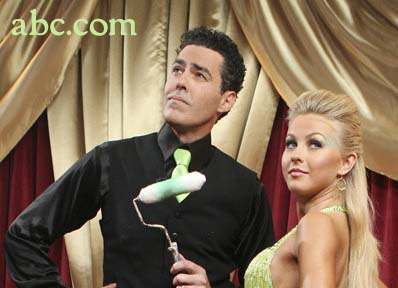 Adam Carolla and Julianne Hough
